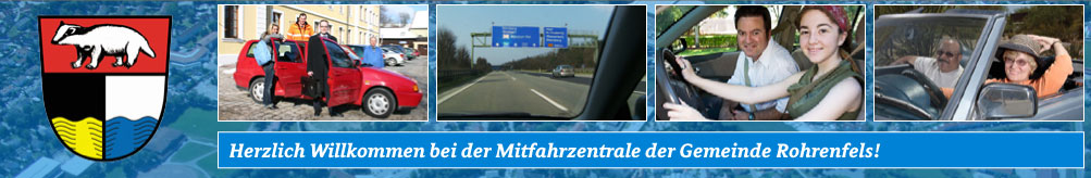 Carpooling-Service in and around Rohrenfels
